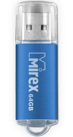 Накопитель USB Flash Drive Mirex UNIT 64GB, USB 2.0, Синий